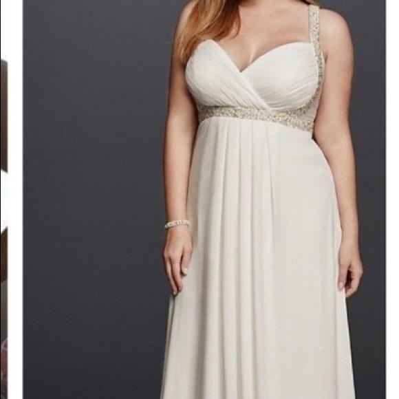 Davids Bridal Dresses Plus Size Wedding Dress Poshmark